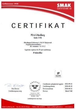 IP Arbetsvillkor